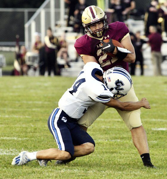 Verba sparks Lakers past Mustangs in county battle