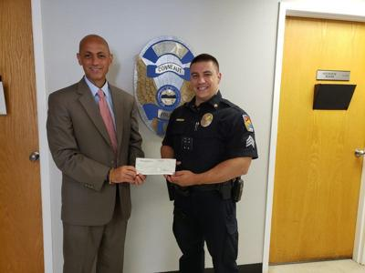 Prosecutor's office donates funds to Conneaut Police Deparment