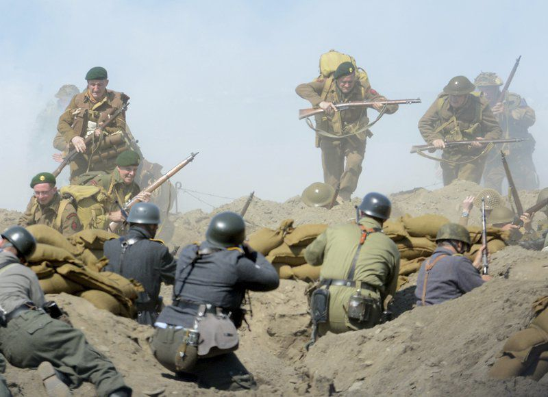 D-Day Conneaut comes to a closewith huge battle on beach