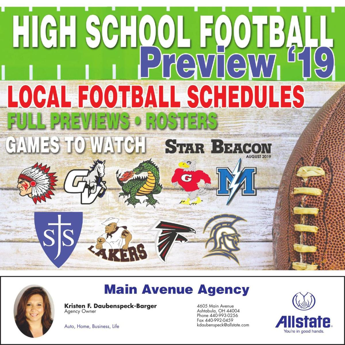 2019 HIGH SCHOOL FOOTBALL KICKOFF
