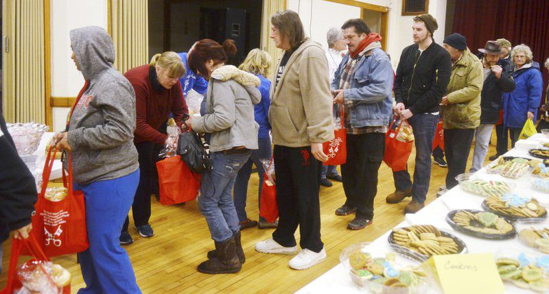 Church helps provide 350 families with food for Christmas