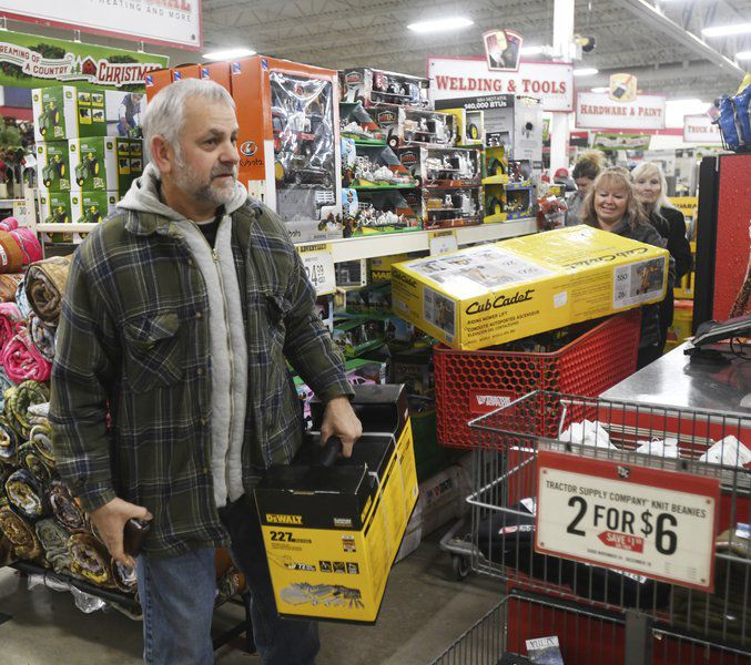 Black Friday shopping tradition continues locally