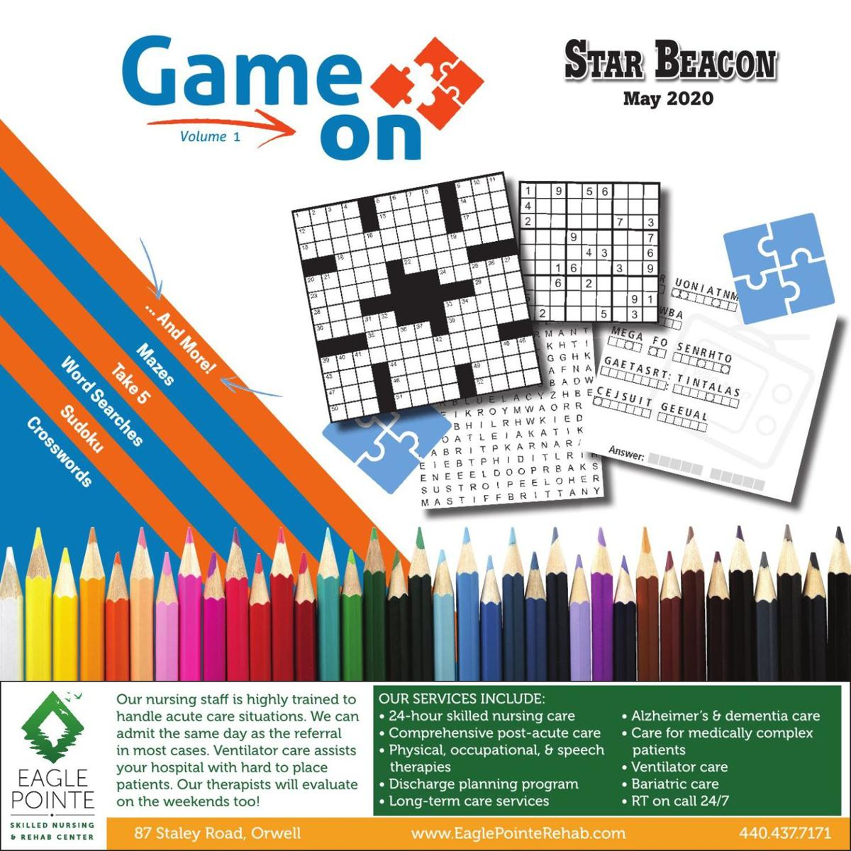 Game On Puzzle Book - May 2020