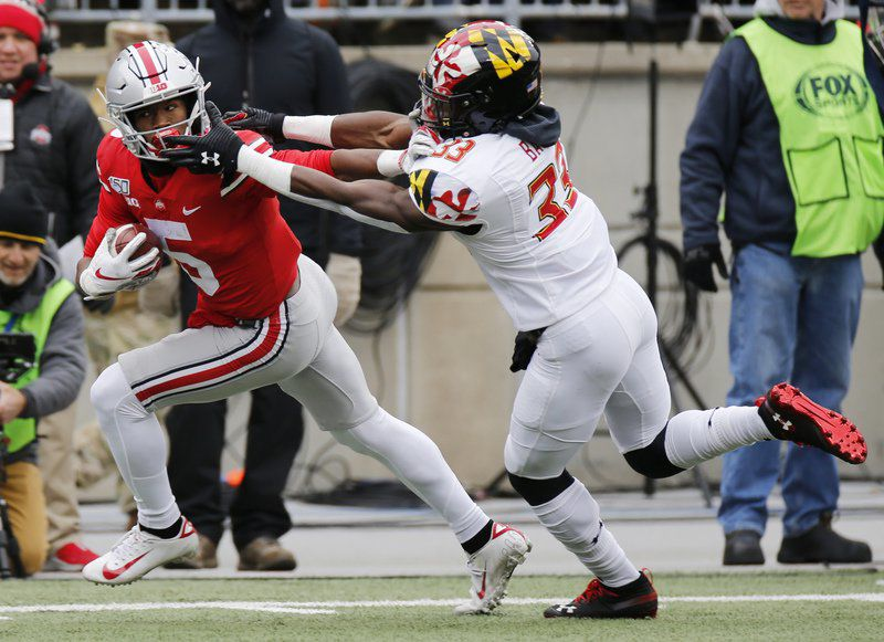 Fields, No. 3 Ohio State overwhelm Maryland 73-14