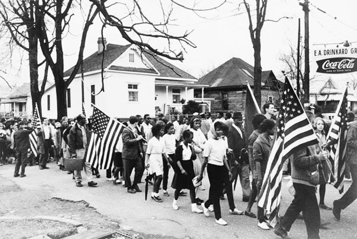 March from Selma to Montgomery