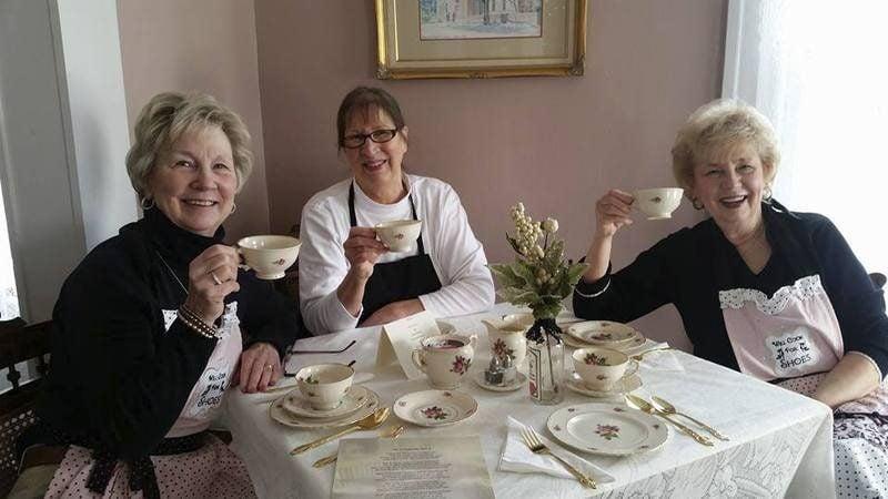 Three Sisters Tea Room Ashtabula Ohio