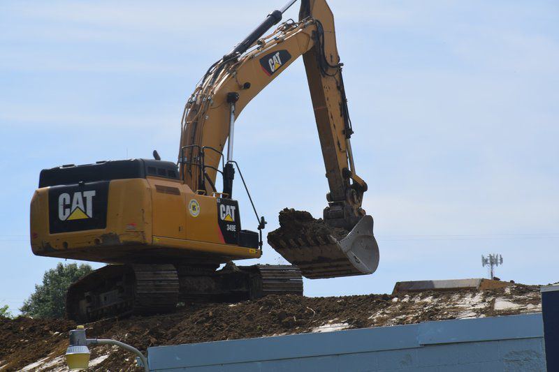 Truck World work continues in Conneaut