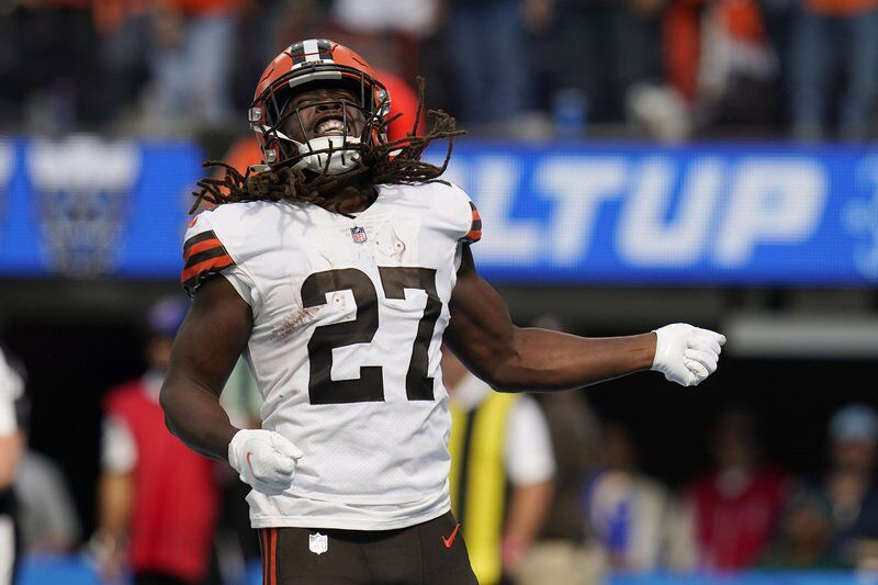 Garrett, Chubb, Hunt not practicing for banged-up Browns