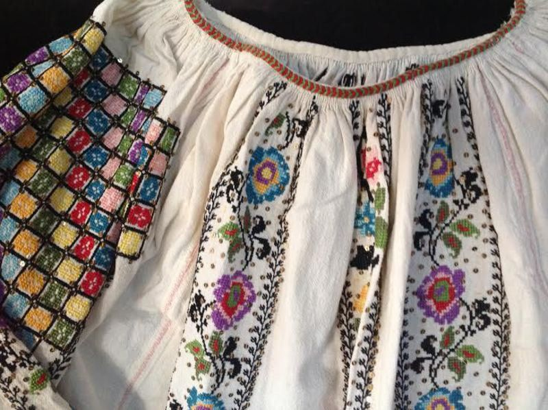 ef79a0f030 Discovering Romania Immigrant daughter and mother unveil traditional  Romanian needlework at Ashtabula Arts Center
