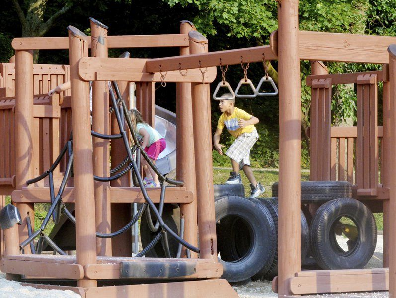 Memorial Field playground is almost ready for full opening