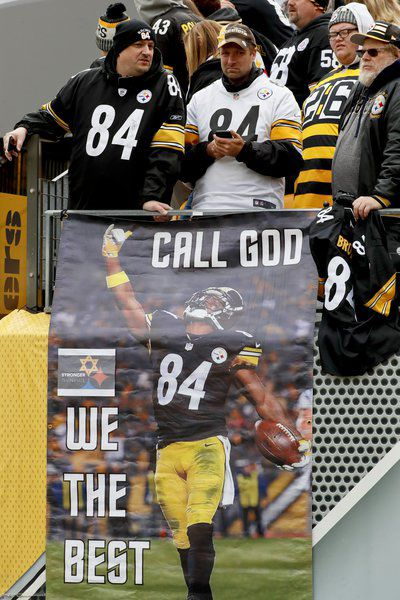 new style 9210a 083a1 Steelers down Browns 33-18 a day after synagogue shooting ...