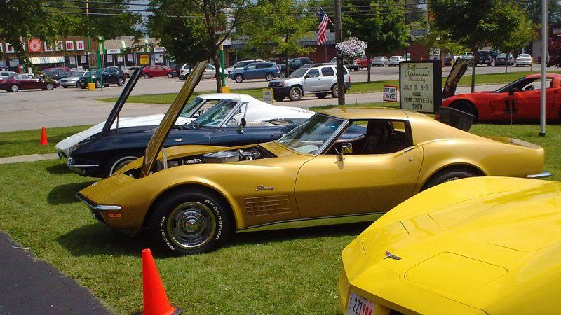 Jefferson Historical Society Hosts Corvette Show Local News - Jefferson car show