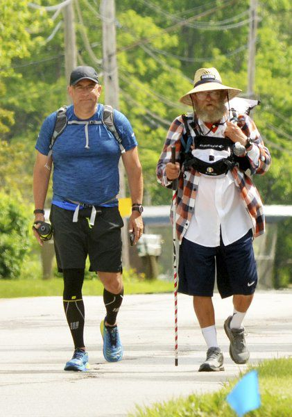 Famous race director walks through county