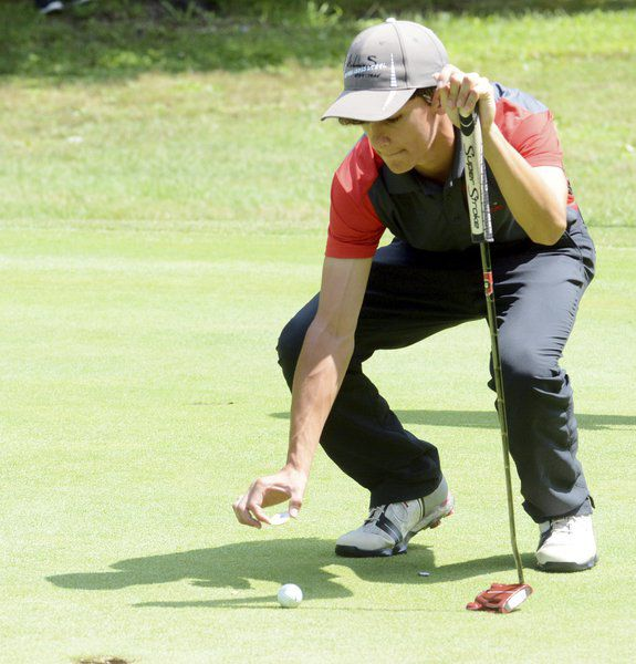Edgewood's Green claims county boys golf player of the year award