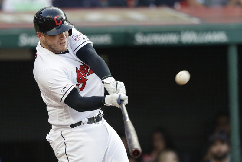 Perez homers twice, Indians power past Astros 10-4