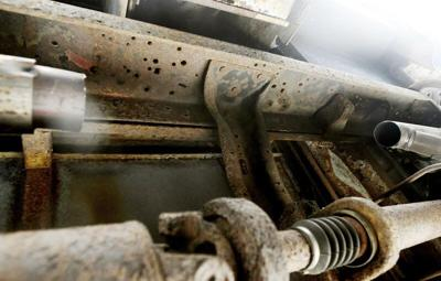 Catalytic converter theft plagues county