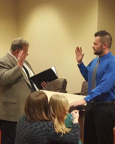 Andover's newmayor officially takes the helm