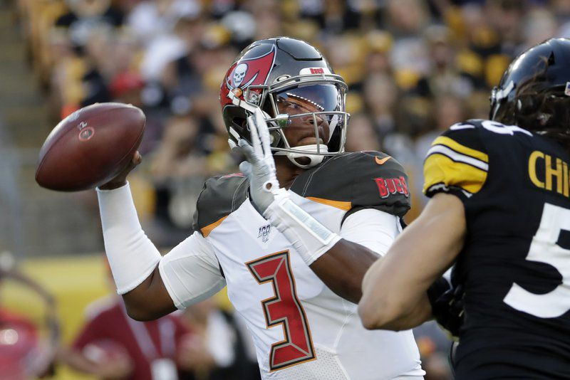 b864eb77 Dobbs, Rudolph lead Steelers to 30-28 win against Bucs | National ...