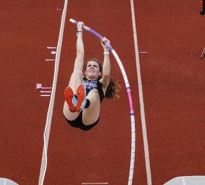 Geneva graduate, Mount Union Aveni hold DIII's top indoor pole vault mark