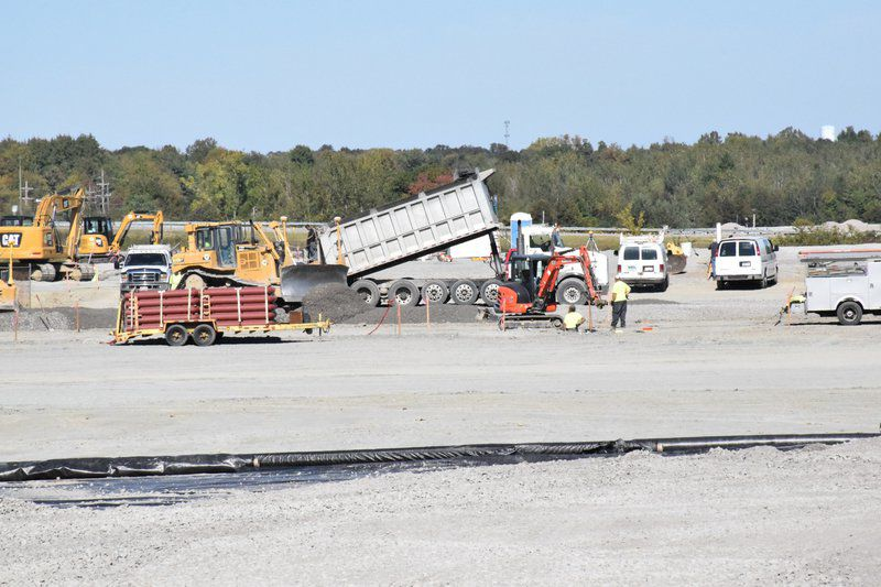 Work continues on new Conneaut truck stop