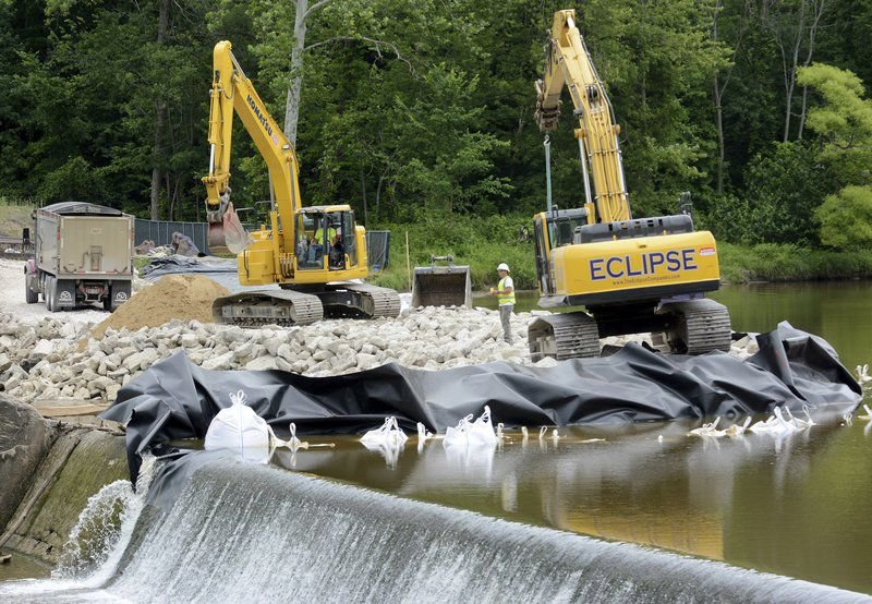 Harpersfield Dam project back on line
