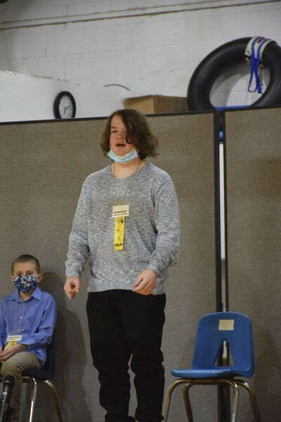 Dufour wins fifth Ashtabula County Spelling Bee