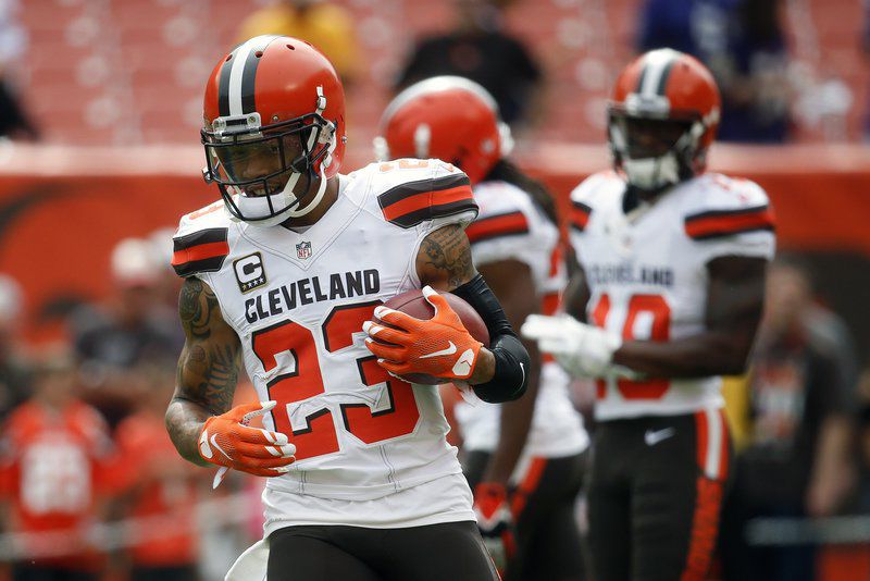 Browns willing to trade cornerback Joe Haden, report says