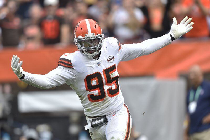 Browns star Garrett misses second practice, expects to play