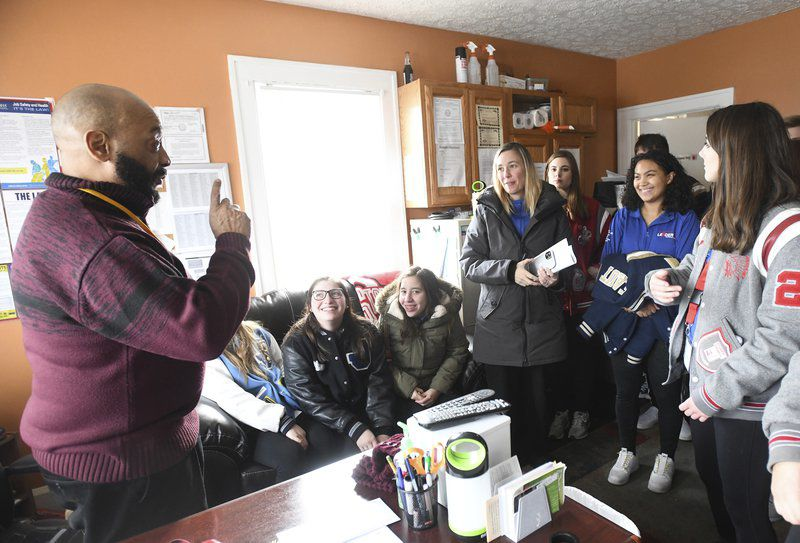 Students learn how community is served