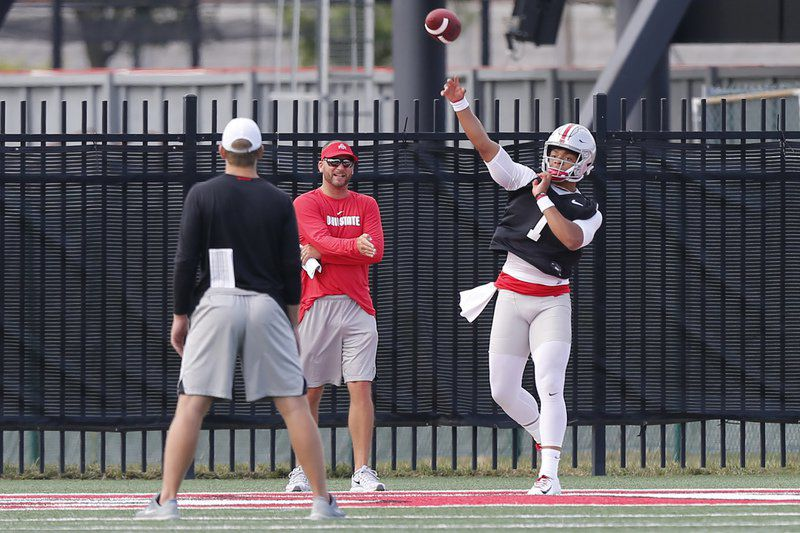 Unproven Ohio State quarterback ready for hype, expectations