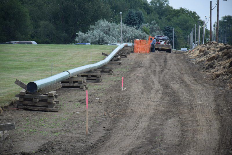 Risberg Pipeline project nears completion