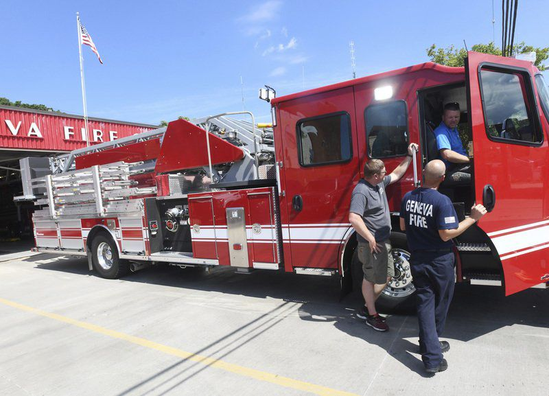 Geneva Fire Department receives new ladder truck