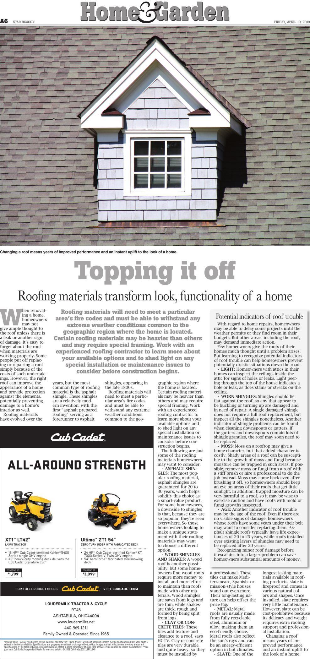 Home & Garden - April 19 Page 1