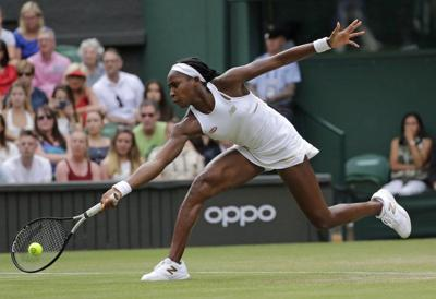 Coco Gauff, 15, avoids 2 match points in Centre Court win