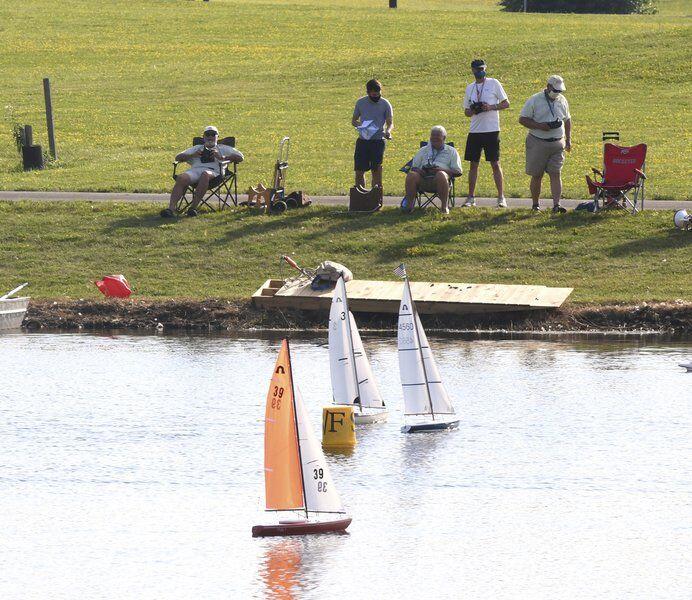 Madison's Jarold enjoys camaraderie of model yacht club racing at Spire