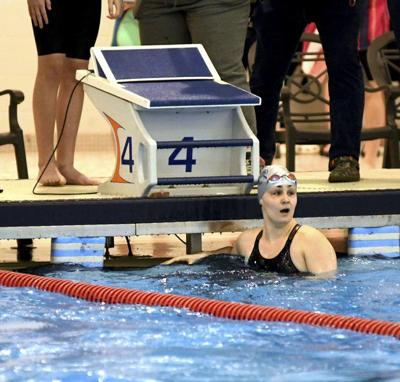 Madison's Fedele focus on reaching state in swimming