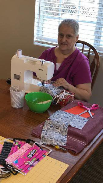 Area women sewing face masks to help fight coronavirus