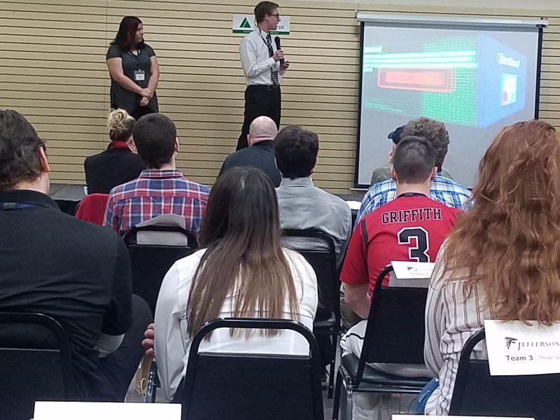 Area students pitch business plans at Junior Achievement Entrepreneur Challenge