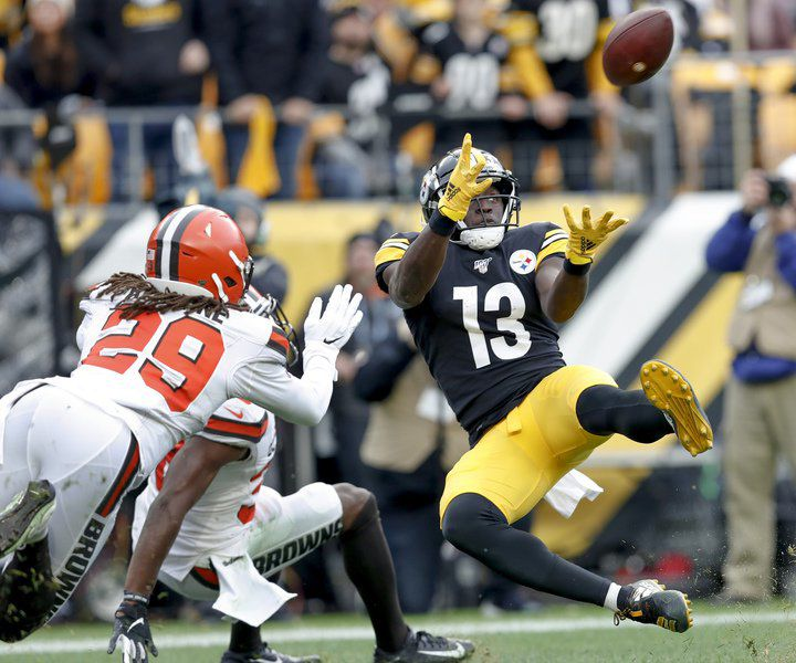 Duck's Dynasty? Backup Hodges leads Steelers by Browns 20-13