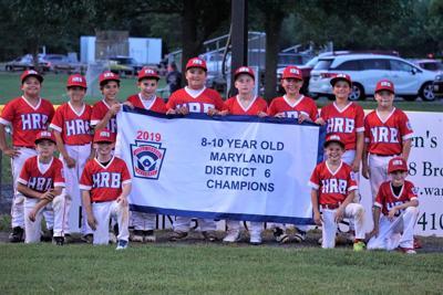 2019 8-10 District 6 Baseball Champs: Homerun Baker (copy)