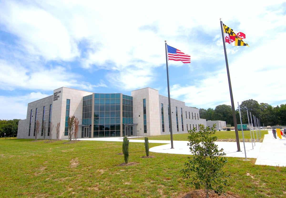 New Maryland National Guard armory opens