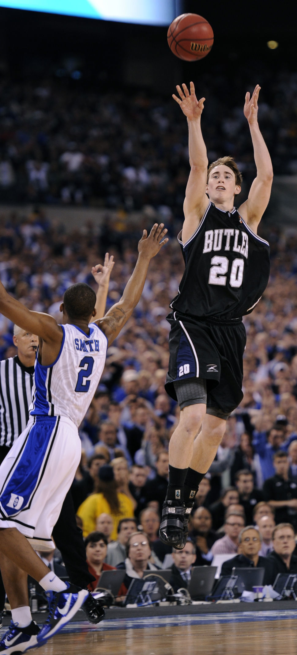 AP Was There Duke Butler 2010 Basketball