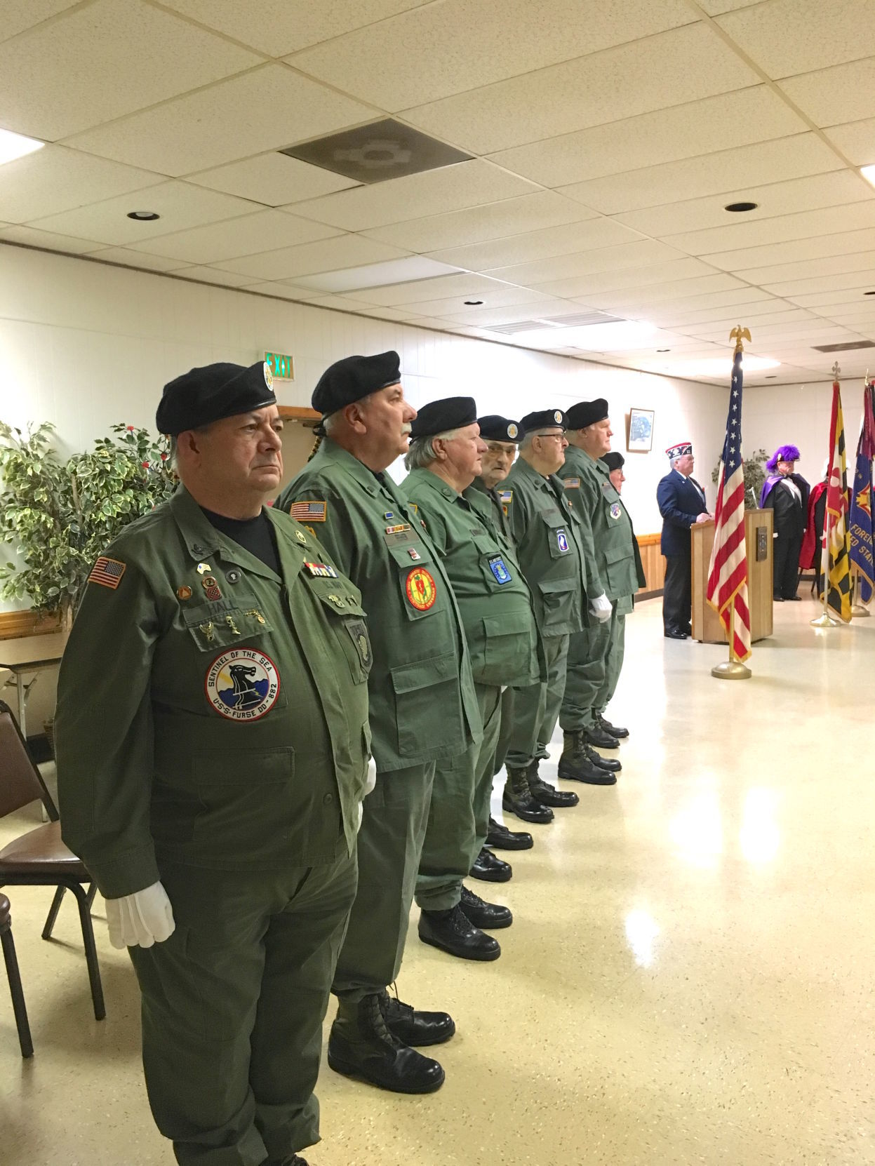 VFW Commander: 'Remember, don't forget'