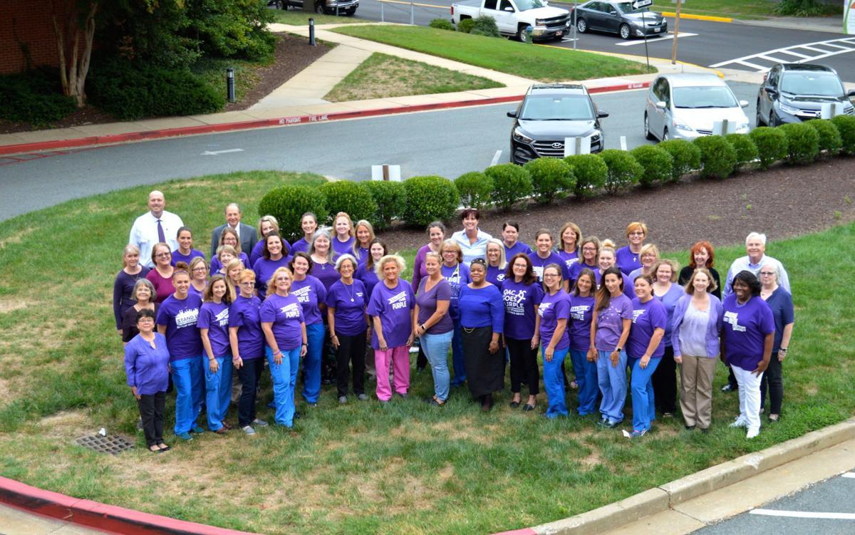 UM Shore Regional Health supports 'Go Purple' campaign