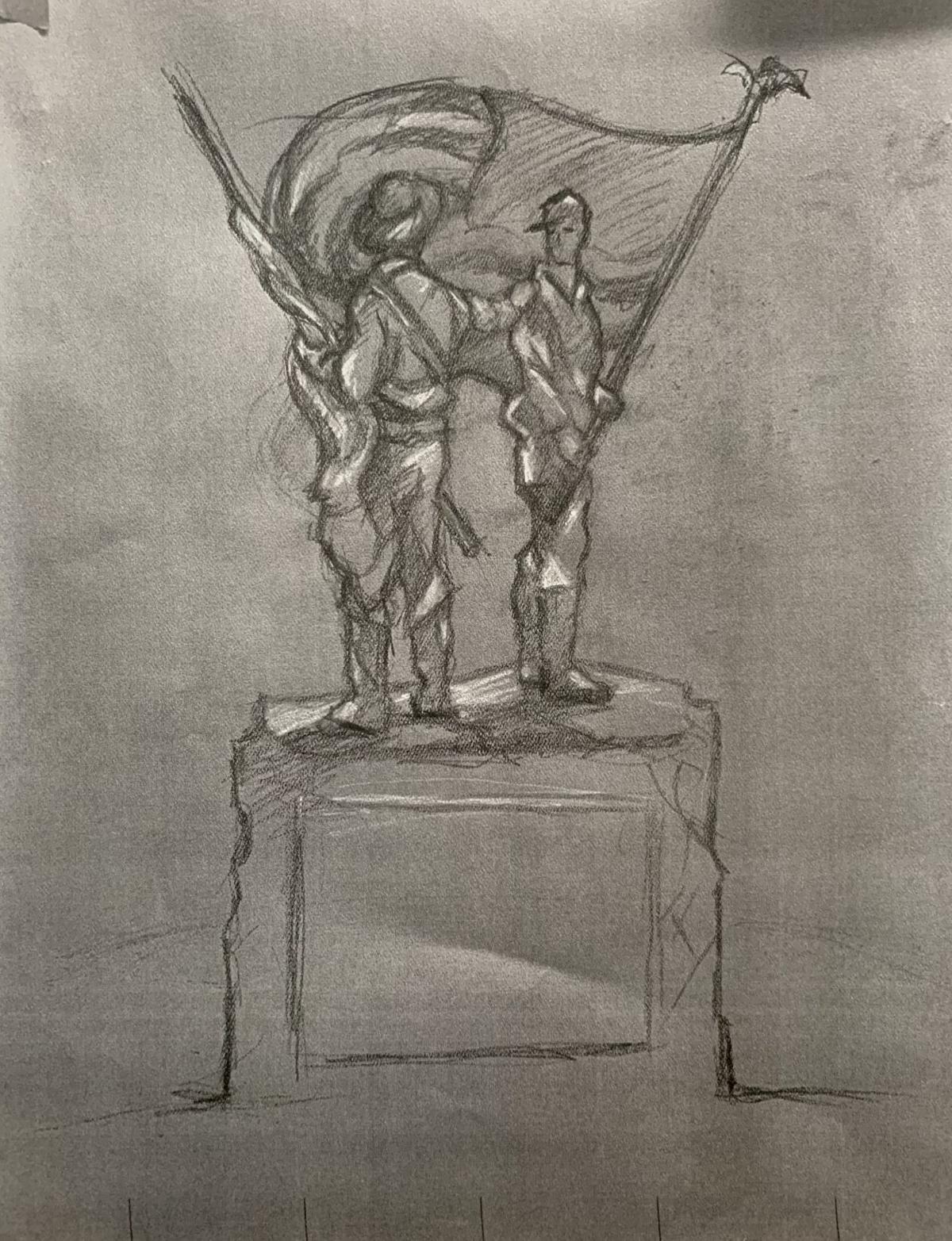 Council debates new statue depicting both sides of Civil War