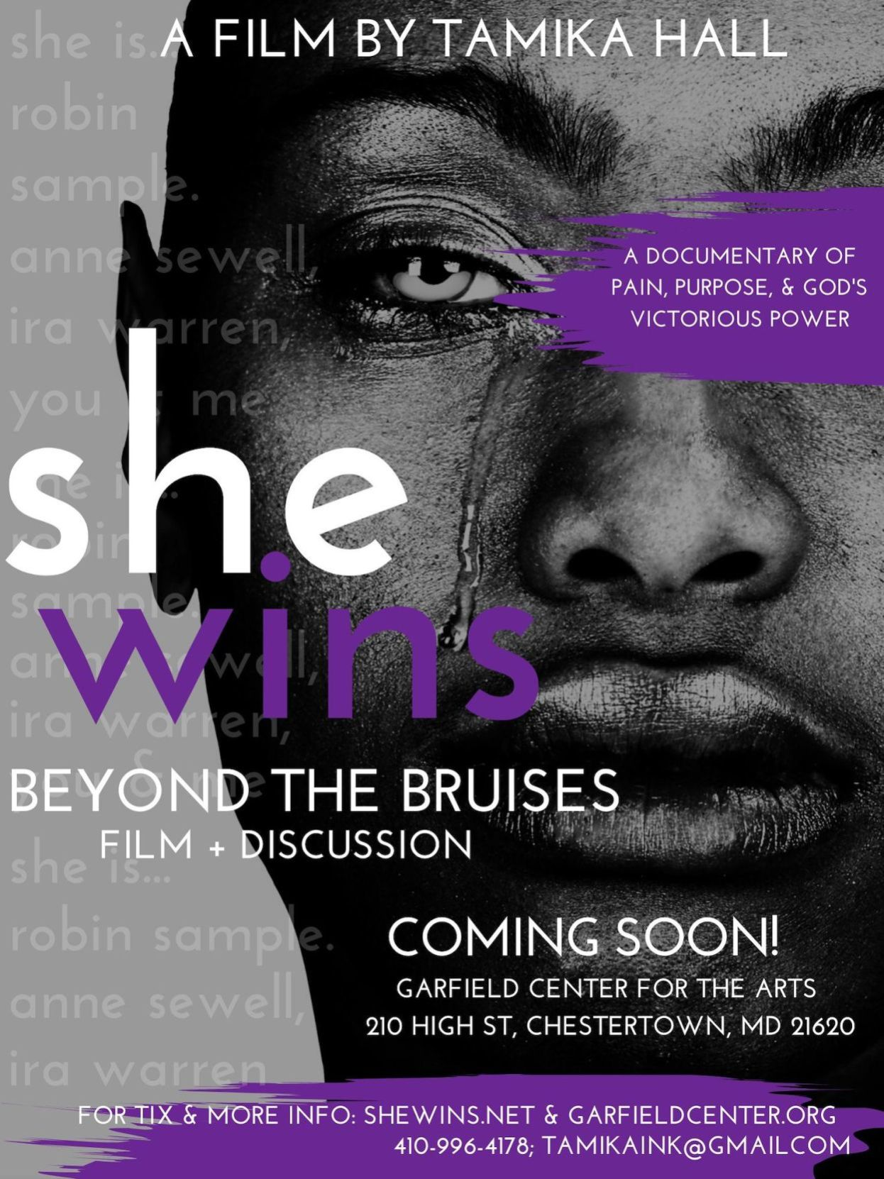 'She Wins! Beyond the Bruises' tell the story of women overcoming domestic abuse