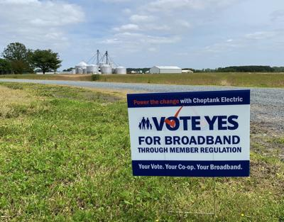 Choptank Electric launches campaign for broadband vote