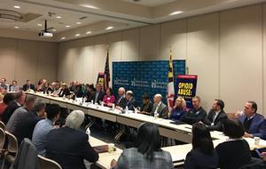 Cardin hosts opioid roundtable