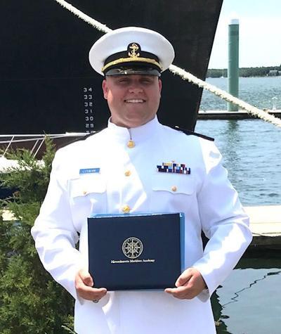 Colman earns degree in marine transportation