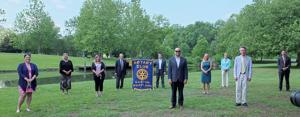 Easton Rotary installs officers, directors